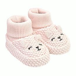 carter's® Newborn Knit Bear Bootie in Pink