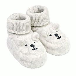 carter's® Newborn Terry Bear Bootie in Grey