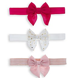 Capelli New York 3-Pack Bow Headbands
