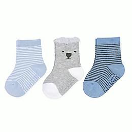 carter's® 3-Pack Stripe Bear Socks
