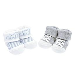 carter's® Newborn 2-Pack Hello Sneakers Keepsake Booties