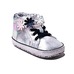 Ro+Me by Robeez® Flower High Top Shoe in Pink