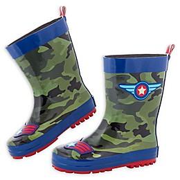 Stephen Joseph® Pilot Rain Boot in Camo