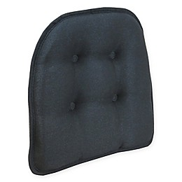 Klear Vu Tufted Embrace Gripper® Chair Pad in Black