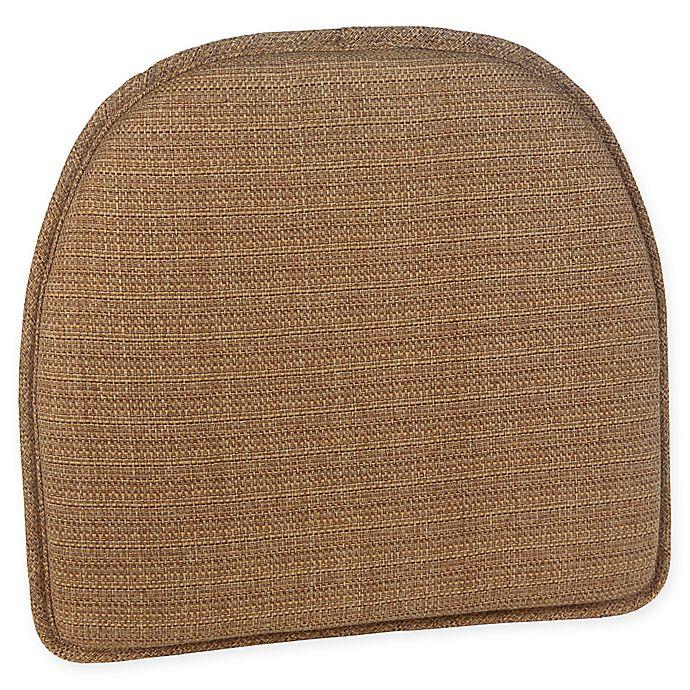 Alternate image 1 for Klear Vu Essentials Bahama Gripper® Chair Pad in Wheat