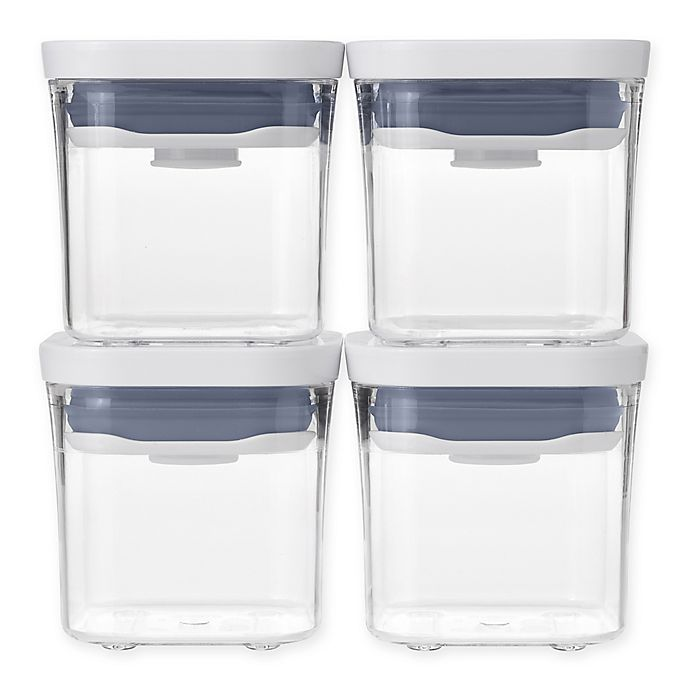 Alternate image 1 for OXO Good Grips® 4 Piece Mini POP Container Set