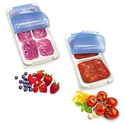 prepworks® Freezer Portion Pods™ Collection in White