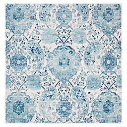 Safavieh Madison Gilly 6'7 Square Area Rug in Turquoise