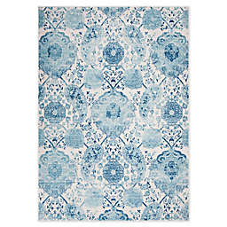 Safavieh Madison Gilly 6'7 x 9'2 Area Rug in Turquoise
