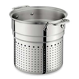 All-Clad Stainless Steel 7 qt. Pasta Colander Insert