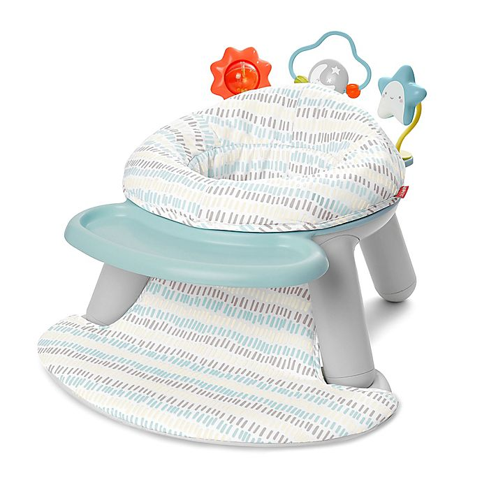 Alternate image 1 for SKIP*HOP® Silver Lining Cloud 2-in-1 Activity Floor Seat