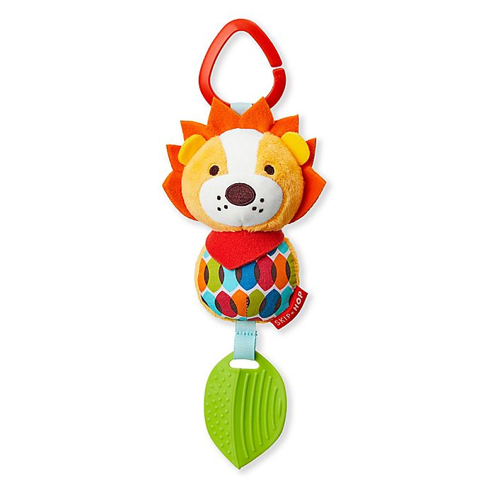 Alternate image 1 for SKIP*HOP® Bandana Buddies Chime & Teethe Lion Toy