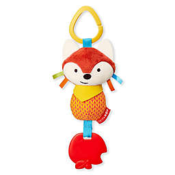 SKIP*HOP® Fox Bandana Buddies Chime and Teething Toy