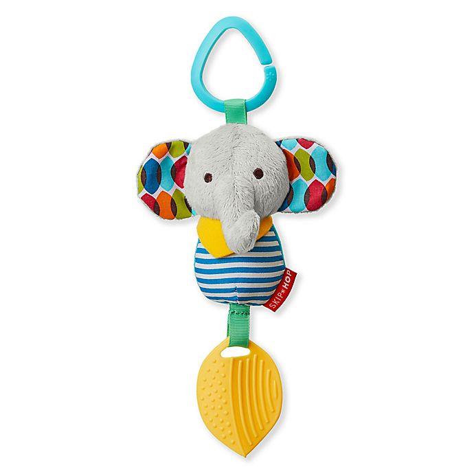 Alternate image 1 for SKIP*HOP® Bandana Buddies Chime & Teethe Elephant Toy