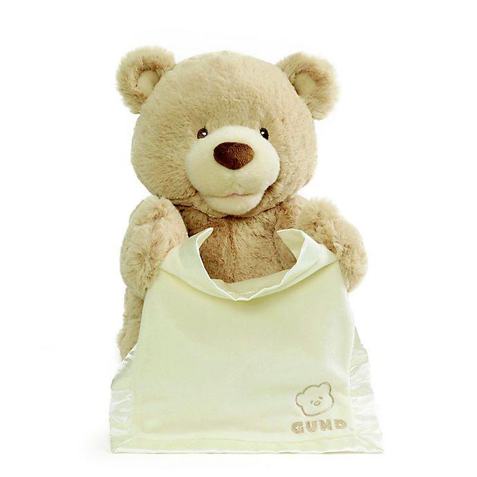 Alternate image 1 for GUND® Peek-A-Boo Bear in Beige