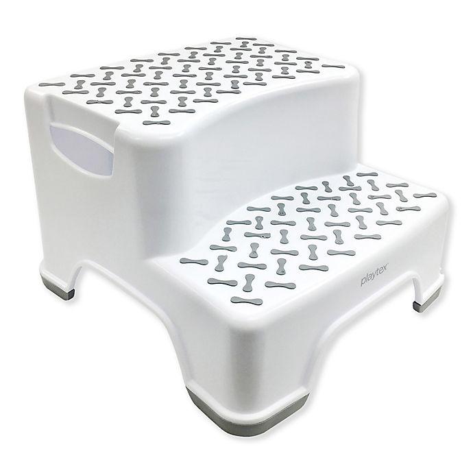 Alternate image 1 for Playtex® 2-Tier Step Stool in White