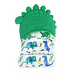 Itzy Ritzy® Dinosaur Silicone Teething Mitt in Green