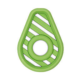 Itzy Ritzy® Avocado Silicone Teether in Green