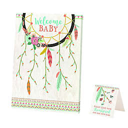Lillian Rose™ Boho Baby Shower Guest Signing Canvas