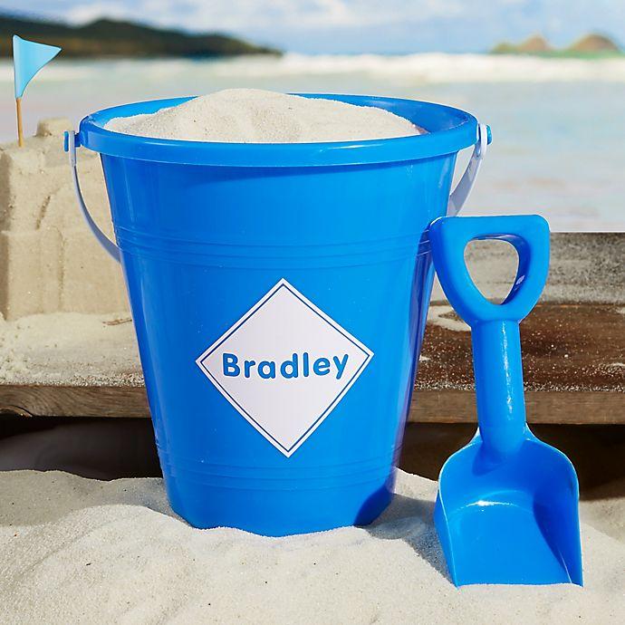 Alternate image 1 for Shapes PZ Plastic Beach Pail & Shovel- Pink