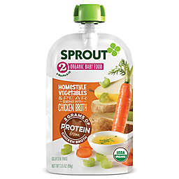 Sprout® 3.5 oz Organic Baby Food Homestyle Vegetables and Pear Seasoned with Chicken Broth