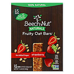 Beech-Nut® 15-Count Stage 4 Strawberry Fruity Oat Bars