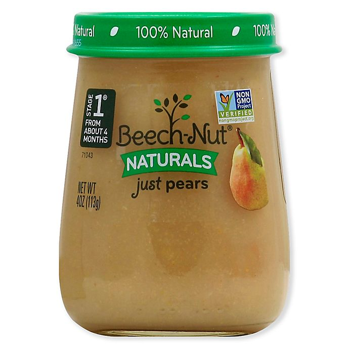 Alternate image 1 for Beech-Nut® Naturals Stage 1 Pears 4 oz. Baby Food Puree