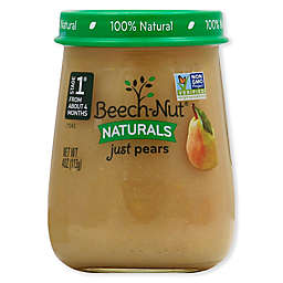 Beech-Nut® Naturals Stage 1 Pears 4 oz. Baby Food Puree