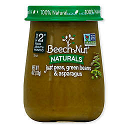 Beech-Nut® Naturals Stage 2 Peas, Green Beans, and Asparagus 4 oz. Baby Food Puree