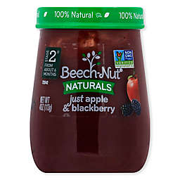 Beech-Nut® Naturals Stage 2 Apple and Blackberry 4 oz. Baby Food Puree