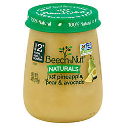 Beech-Nut® Naturals Stage 2 Pineapple, Pear, and Avocado 4 oz. Baby Food Puree