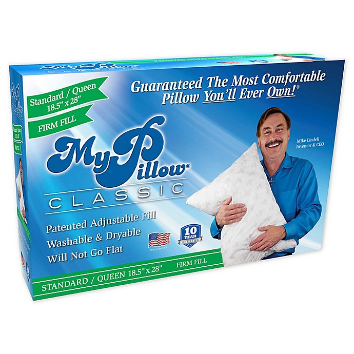 Alternate image 1 for MyPillow® Classic Firm Fill Pillow