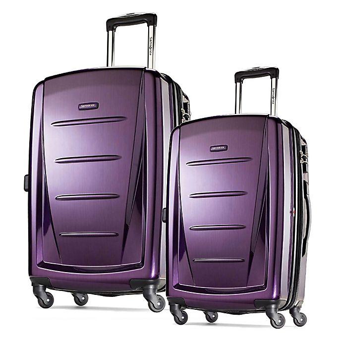 Alternate image 1 for Samsonite® Winfield 2  Hardside Spinner Checked Luggage