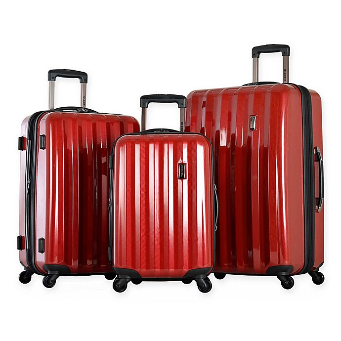 Alternate image 1 for Olympia® Titan 3-Piece Hardside Spinner Luggage Set