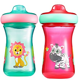 The First Years™ Safari 2-Pack 9 oz. Hard Spout Sippy Cups