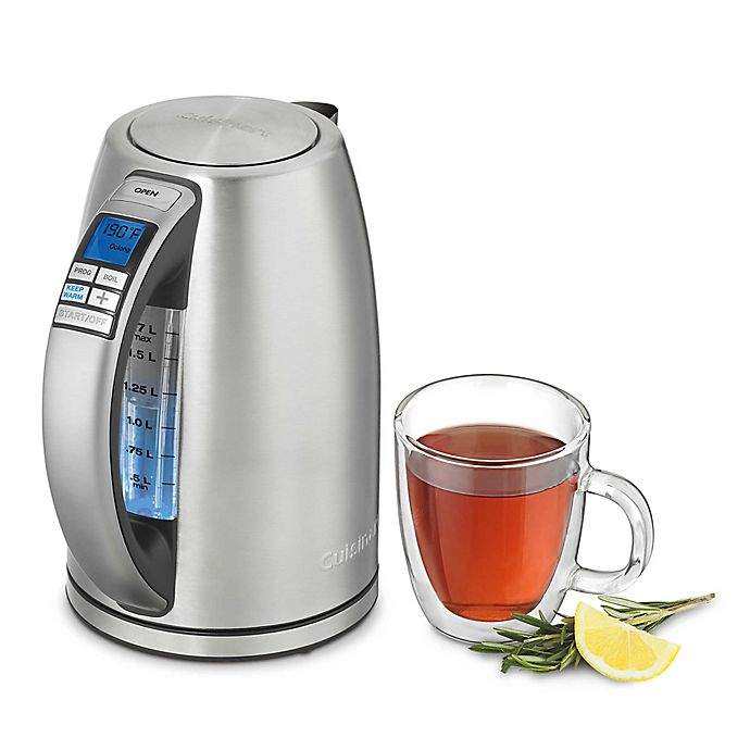 Alternate image 1 for Cuisinart®  1.7-liter Electric Kettle in Stainless Steel