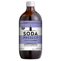 SodaStream® Soda Press CO® 500 ml. Organic Blueberry & Lime Soda Syrup