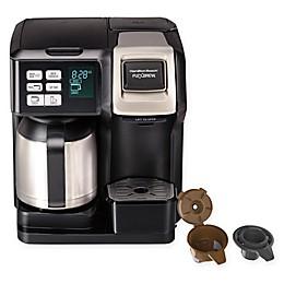 Hamilton Beach® FlexBrew® 2-Way Thermal Coffee Maker in Black