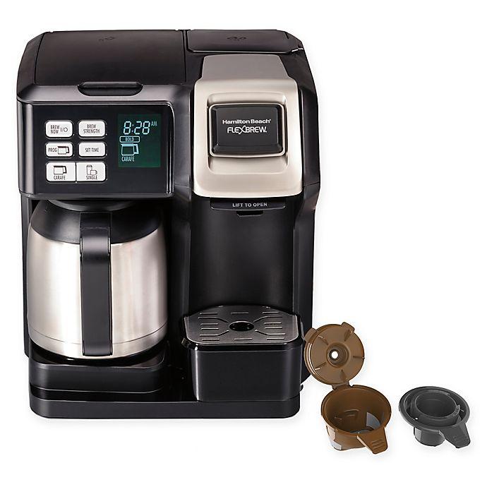 Alternate image 1 for Hamilton Beach® FlexBrew® 2-Way Thermal Coffee Maker in Black