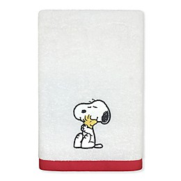 Peanuts™ Bath Towel in White