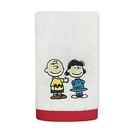 Peanuts™ Hand Towel in White