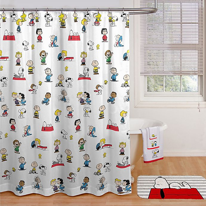 Alternate image 1 for Peanuts™ Shower Curtain Collection