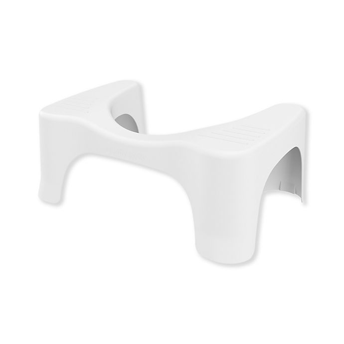 Alternate image 1 for Squatty Potty Curve 7-Inch Toilet Stool