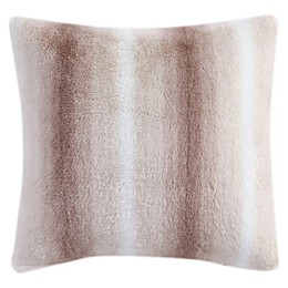 Morgan Home Purely Soft Faux Rabbit Fur Throw Pillow