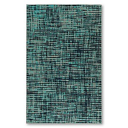 Kaleen Zuma Beach Encinitas Indoor/Outdoor Rug in Turquoise