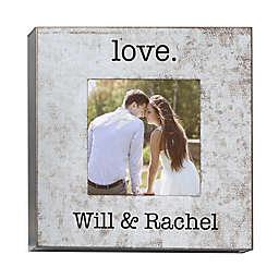 Romantic Statements Galvanized Box Picture Frame