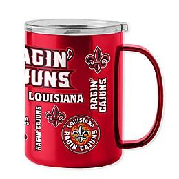 University of Louisiana - Lafayette 15 oz. Stainless Steel Ultra Mug with Lid