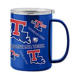 Louisiana Tech University 15 oz. Stainless Steel Ultra Mug with Lid