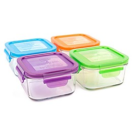 Wean Green® 16 oz. Garden Pack Lunch Cubes in Assorted Colors (Set of 4)