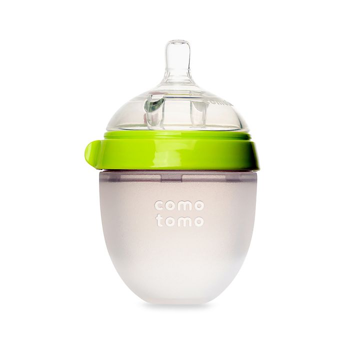 Alternate image 1 for Comotomo™ 5-Ounce Baby Bottle in Green